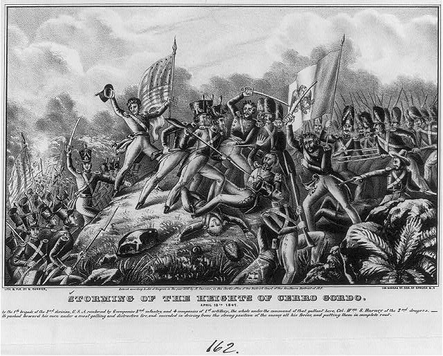 Storming of the heights of Cerro Gordo: April 18th 1847