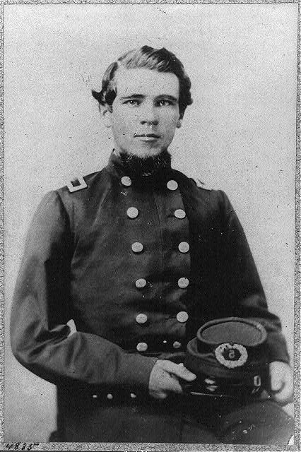 [Micah Jenkins, 1835-1864, half length, seated, facing slightly right, in U.S. Civil War officer's uniform. Col., 5th S.C. Infantry]