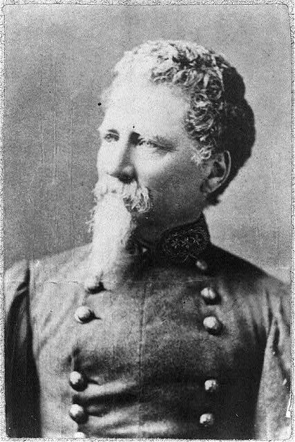 [Dabney Herndon Maury, 1822-1900; head and shoulders, facing left; in Confederate officer's uniform]