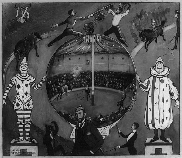 [The amateur circus at Nutley]