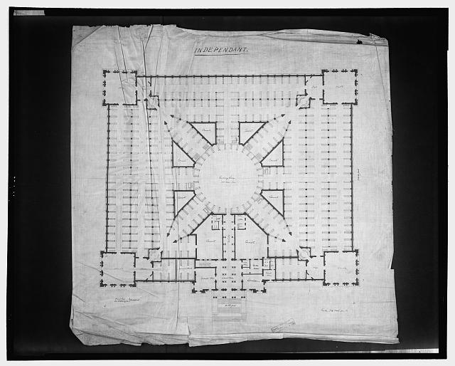 [Library of Congress, Washington, D.C. Floor plan]