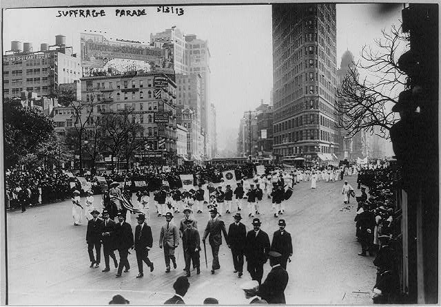 Suffrage parade, N.Y.C.