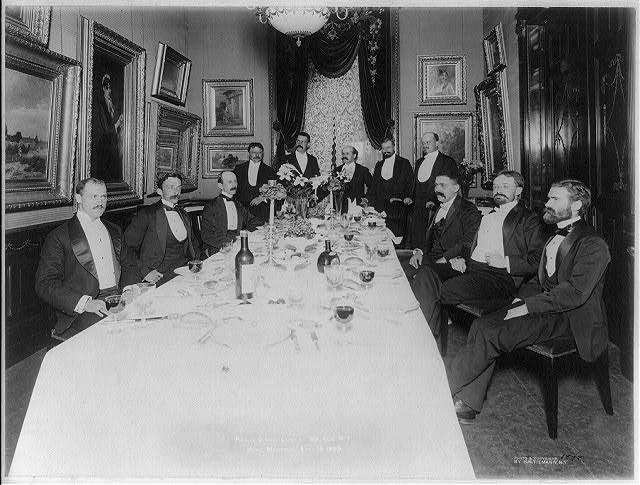 Reunion dinner, Class of '83, C.C.N.Y. at the Hotel Manhattan, April 16, 1898
