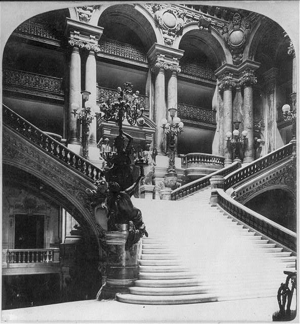 Grand Staircase, Grand Opera, Paris, France