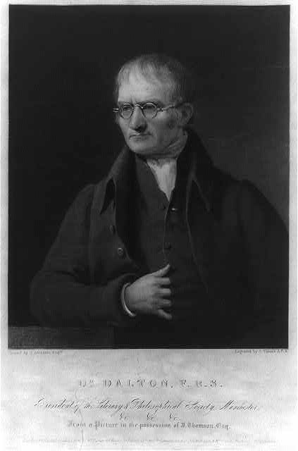 Dr. Dalton, F.R.S. - president of the Literary & Philosophical Society, Manchester