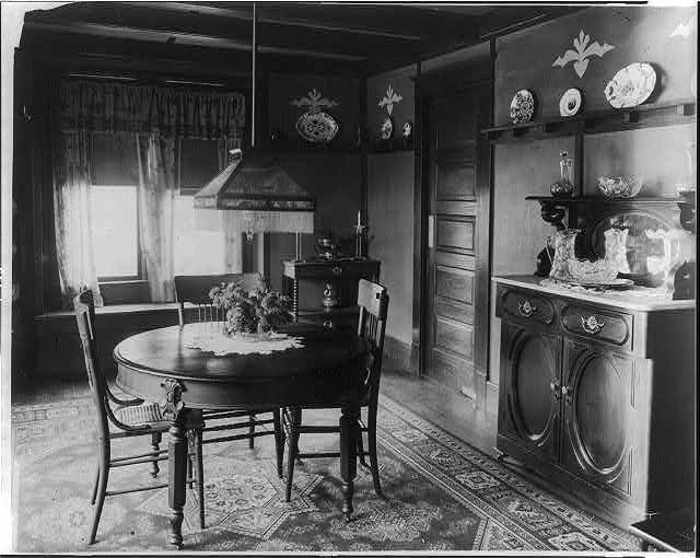 Mr. Reynolds' dining room