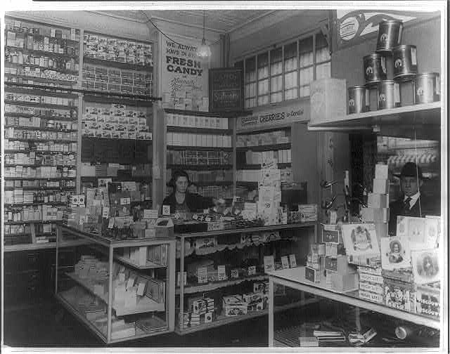 [Probably interior of a People's Drug Store in Washington, D.C.]