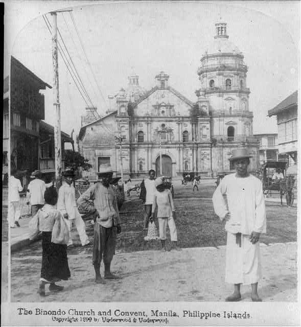 "[Manila, P.I., 1899: ""Binondo Church and Convent""]"