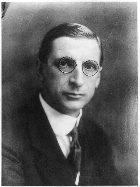 [Eamonn De Valera, head-and-shoulders portrait, facing front]