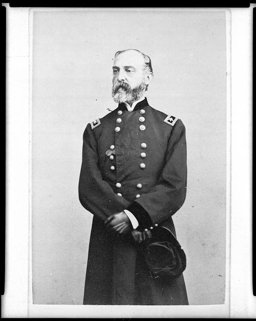 [George Gordon Meade, Major General, United States Army, three-quarter length portrait, facing left]