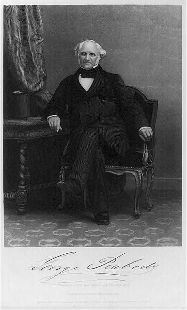 George Peabody, 1795-1869