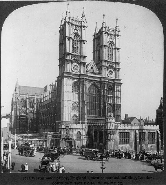 Westminster Abbey, England's most celebrated building, London