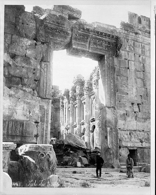 Ruins of temple, Baalbek, Lebanon