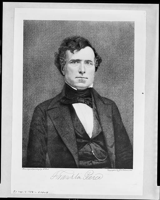 Franklin Pierce, Pres. U.S., 1804-1869