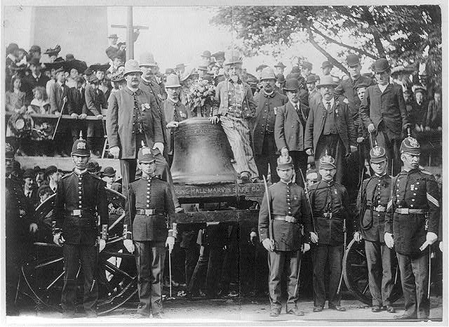 Liberty Bell - at Bunker Hill, Boston, June 1903