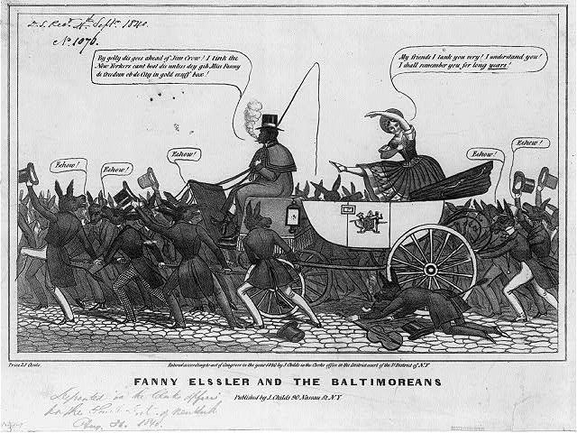 Fanny Elssler and the Baltimoreans