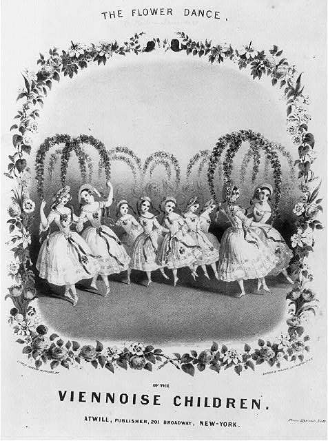 The Flower Dance of the Viennoise Children