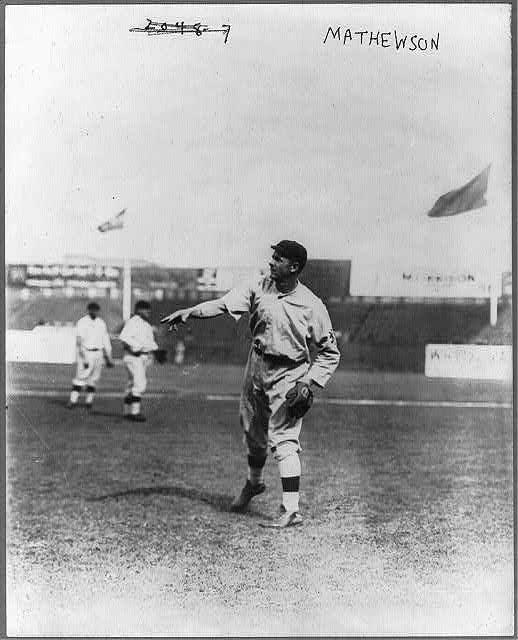 [Christy Mathewson, New York NL (baseball)]