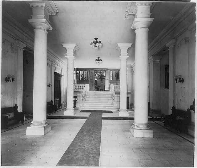 Nurses Hall, St. Lukes Hospital, New York City