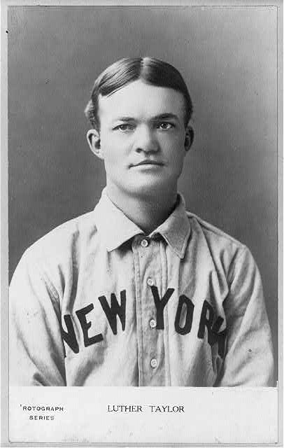 "[Luther ""Dummy"" Taylor, New York NL (baseball)]"
