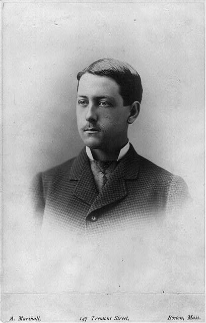 [Marston Abbott Frazar, head-and-shoulders portrait, facing left]