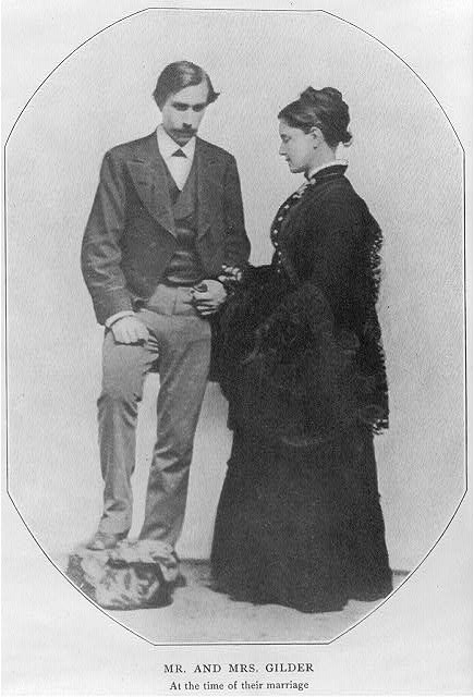 Mr. and Mrs. Gilder at the time of their marriage