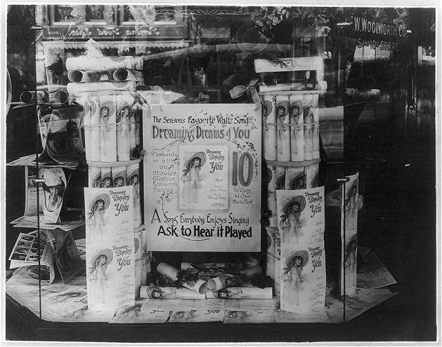 Display in window of F.W. Woolworth Co., Washington, D.C.