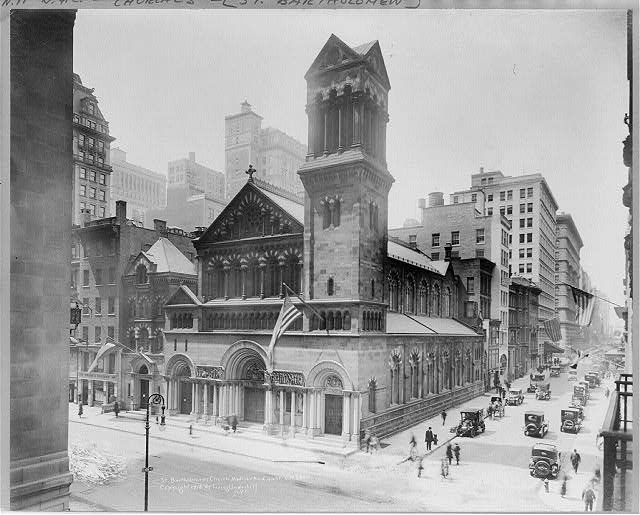 [New York City: St. Bartholomews Church, Madison Ave. & 44th St.]