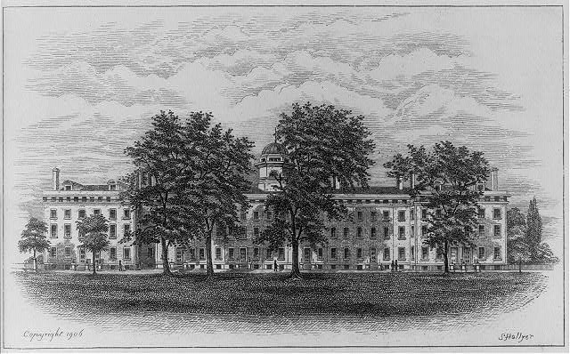 Columbia College, 1828, [New York City]