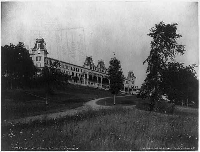 New Grand Hotel, Catskill Mountains, N.Y.