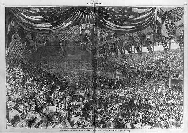 The Republican National Convention at Chicago