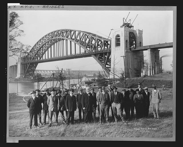Hell Gate Bridge, Oct. 11, 1916