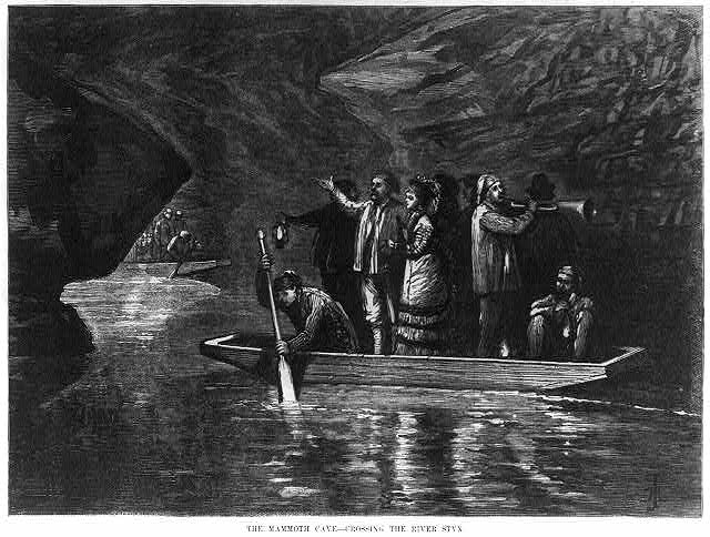 Mammoth Cave, Kentucky: Crossing the River Styx