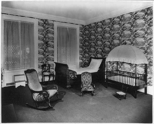 "Roosevelt House, New York ""Childrens room."""