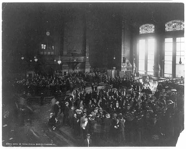 Board of Trade, during session, Chicago, Ill.