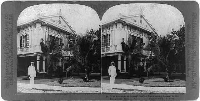 Manila, Philippine Islands: The residence of General Chaffee, Commanding General in the Philippines
