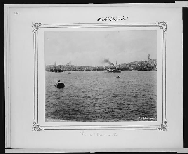 [View of Galata and Istanbul]