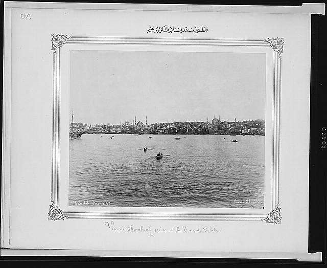 [View of Istanbul from Galata]