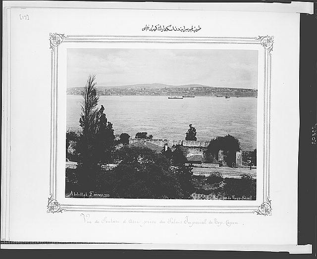 [View of Üsküdar from the Topkapı Sarayı (palace)]