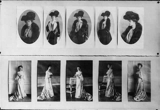 Alice Roosevelt Longworth photographs presentation display