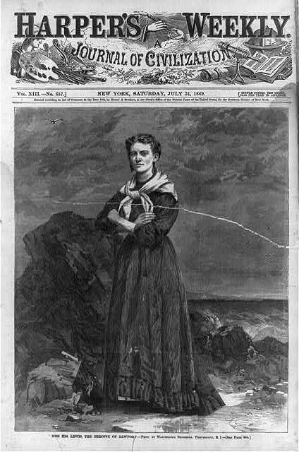Miss Ida Lewis, the heroine of Newport