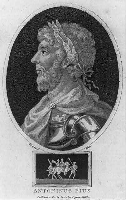 Antonius Pius, Emperor of Rome, 86-161 A.D.