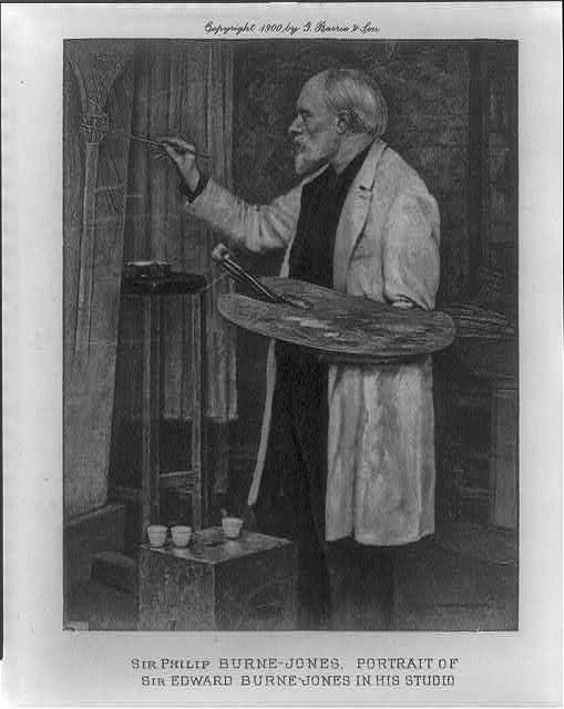 Sir Edward Coley Burne-Jones, 1833-1898