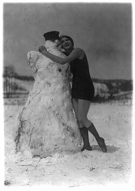 What it takes to melt a snowman this young lady has - Miss Fritzi Ridgeway