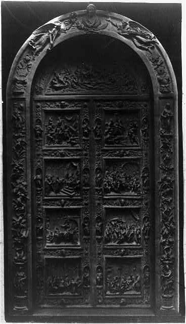 [Bronze doors for the House wing (later moved to the central east front entrance), U.S. Capitol]