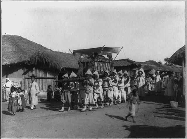 Funeral procession, Korea