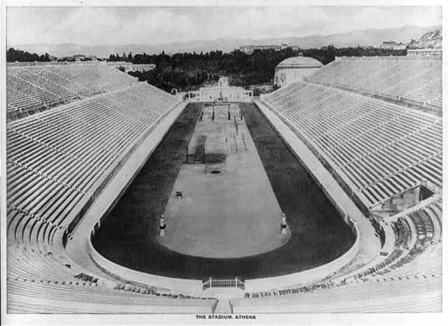The stadium, Athens