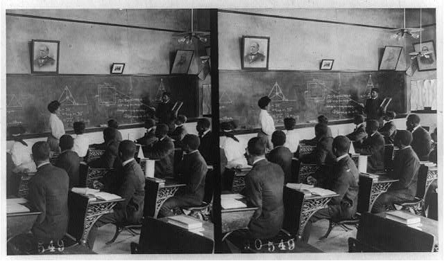 [African American class at Tuskegee Institute?]