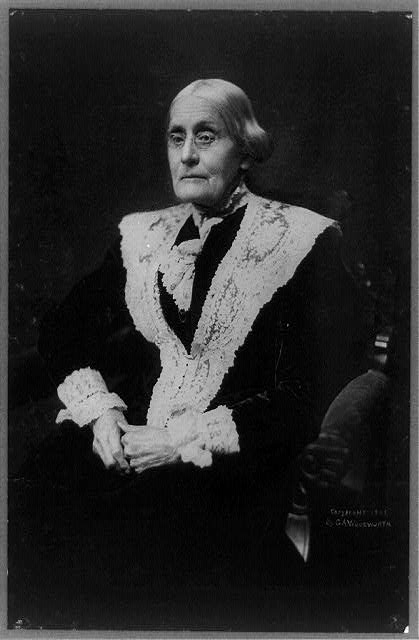 Susan B. (Susan Brownell) Anthony, 1820-1906