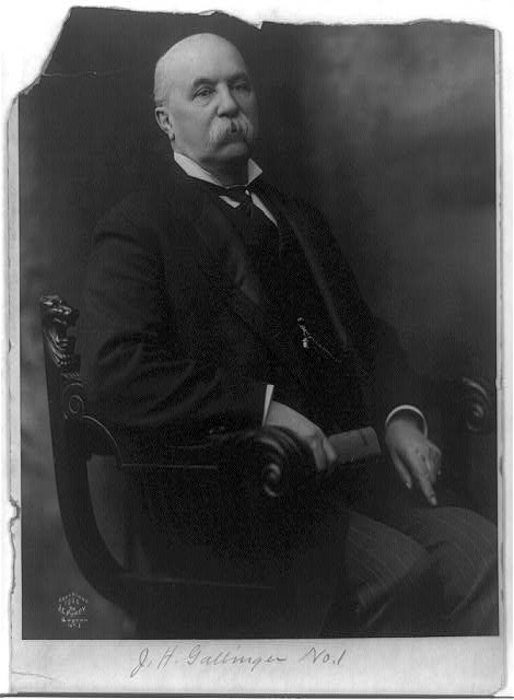 Jacob Harold Gallinger, 1837-1918